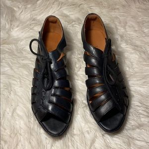L'Amour DesPieds Leather Wedges